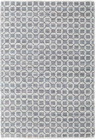 Elna - Grå Teppe 170X240 Ekte Moderne Håndvevd Lys Grå/Lys Blå (Bomull, India)