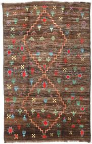 Barchi/Moroccan Berber - Afganistan Teppe 190X304 Ekte Moderne Håndknyttet Brun/Mørk Brun (Ull, Afghanistan)