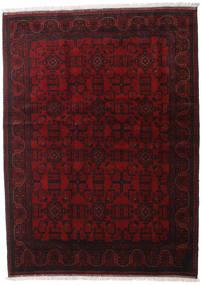 Afghan Khal Mohammadi Teppe 176X238 Ekte Orientalsk Håndknyttet Mørk Brun/Mørk Rød (Ull, Afghanistan)