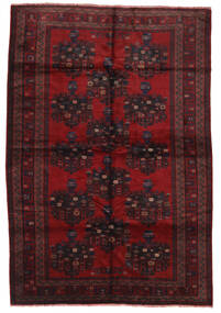 Beluch Teppe 200X290 Ekte Orientalsk Håndknyttet Mørk Rød/Mørk Brun (Ull, Afghanistan)