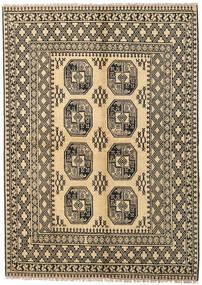 Afghan Teppe 170X230 Ekte Orientalsk Håndknyttet Mørk Beige/Lysbrun (Ull, Afghanistan)