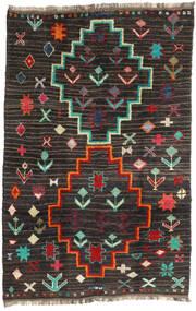 Barchi/Moroccan Berber - Afganistan Teppe 198X303 Ekte Moderne Håndknyttet Svart/Mørk Grå (Ull, Afghanistan)