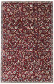 Mashad Patina Teppe 173X270 Ekte Orientalsk Håndknyttet Mørk Rød/Mørk Grå (Ull, Persia/Iran)