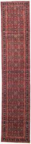 Hamadan Patina Teppe 78X380 Ekte Orientalsk Håndknyttet Teppeløpere Rød/Mørk Rød (Ull, Persia/Iran)