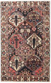 Bakhtiar Patina Teppe 150X247 Ekte Orientalsk Håndknyttet Mørk Brun/Mørk Rød (Ull, Persia/Iran)