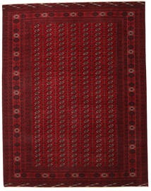 Turkaman Patina Teppe 305X390 Ekte Orientalsk Håndknyttet Mørk Rød/Mørk Brun Stort (Ull, Persia/Iran)