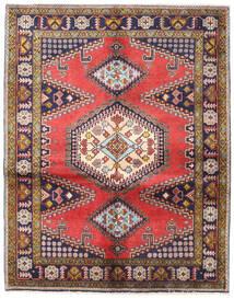 Wiss Teppe 158X200 Ekte Orientalsk Håndknyttet Mørk Lilla/Lysbrun (Ull, Persia/Iran)