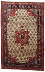 Songhor Teppe 206X322 Ekte Orientalsk Håndknyttet Lysbrun/Svart (Ull, Persia/Iran)