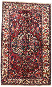 Bakhtiar Teppe 145X240 Ekte Orientalsk Håndknyttet Mørk Rød/Mørk Blå (Ull, Persia/Iran)