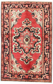 Lillian Teppe 127X200 Ekte Orientalsk Håndknyttet Rust/Mørk Rød (Ull, Persia/Iran)
