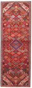 Joshaghan Teppe 102X293 Ekte Orientalsk Håndknyttet Teppeløpere Mørk Rød/Rust (Ull, Persia/Iran)