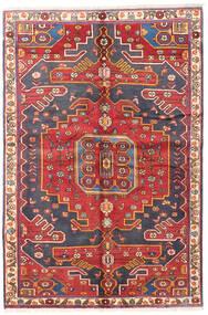 Bakhtiar Teppe 135X205 Ekte Orientalsk Håndknyttet Mørk Rød/Rust (Ull, Persia/Iran)