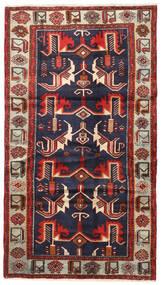 Tarom Teppe 120X215 Ekte Orientalsk Håndknyttet Mørk Rød/Svart (Ull, Persia/Iran)