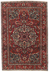 Bakhtiar Patina Teppe 136X200 Ekte Orientalsk Håndknyttet Mørk Rød/Svart (Ull, Persia/Iran)