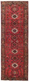 Hamadan Patina Teppe 108X318 Ekte Orientalsk Håndknyttet Teppeløpere Mørk Rød/Rød (Ull, Persia/Iran)