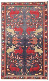 Bakhtiar Patina Teppe 112X182 Ekte Orientalsk Håndknyttet Mørk Grå/Mørk Rød (Ull, Persia/Iran)