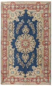 Kerman Patina Teppe 147X240 Ekte Orientalsk Håndknyttet Lysbrun/Mørk Blå (Ull, Persia/Iran)