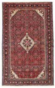 Hamadan Patina Teppe 133X210 Ekte Orientalsk Håndknyttet Mørk Rød/Mørk Brun (Ull, Persia/Iran)