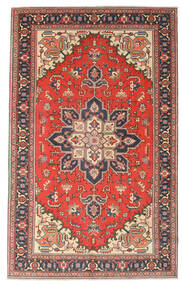 Heriz Patina Teppe 164X265 Ekte Orientalsk Håndknyttet Mørk Grå/Rust (Ull, Persia/Iran)