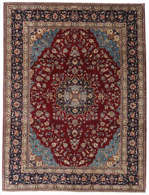 Kashmar Patina Teppe 254X335 Ekte Orientalsk Håndknyttet Mørk Rød/Mørk Brun Stort (Ull, Persia/Iran)