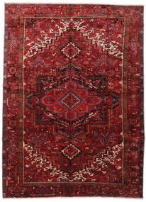 Heriz Teppe 295X403 Ekte Orientalsk Håndknyttet Mørk Rød/Mørk Brun Stort (Ull, Persia/Iran)
