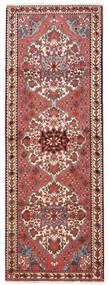 Bakhtiar Teppe 108X300 Ekte Orientalsk Håndknyttet Teppeløpere Mørk Rød/Beige (Ull, Persia/Iran)