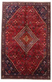 Joshaghan Teppe 210X335 Ekte Orientalsk Håndknyttet Mørk Rød/Mørk Brun (Ull, Persia/Iran)