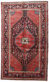Nahavand Teppe 150X245 Ekte Orientalsk Håndknyttet Mørk Brun/Mørk Rød (Ull, Persia/Iran)
