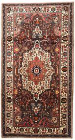 Bakhtiar Teppe 165X310 Ekte Orientalsk Håndknyttet Teppeløpere Mørk Brun/Svart (Ull, Persia/Iran)