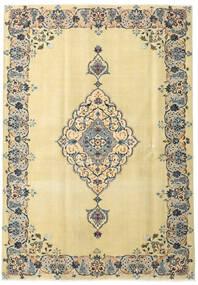 Keshan Patina Teppe 165X238 Ekte Orientalsk Håndknyttet Mørk Beige/Beige (Ull, Persia/Iran)