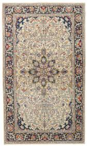 Kerman Patina Teppe 116X200 Ekte Orientalsk Håndknyttet Beige/Lys Grå (Ull, Persia/Iran)