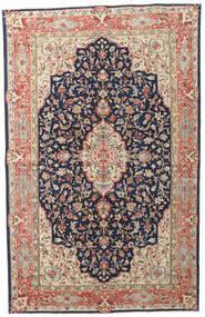 Kerman Patina Teppe 149X236 Ekte Orientalsk Håndknyttet Mørk Lilla/Mørk Rød (Ull, Persia/Iran)