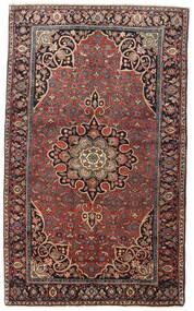 Bidjar Teppe 129X212 Ekte Orientalsk Håndknyttet Mørk Rød/Mørk Brun (Ull, Persia/Iran)