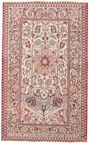 Keshan Patina Teppe 127X207 Ekte Orientalsk Håndknyttet Lys Grå/Beige (Ull, Persia/Iran)