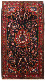 Hamadan Teppe 160X285 Ekte Orientalsk Håndknyttet Mørk Rød (Ull, Persia/Iran)