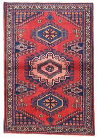 Wiss Teppe 108X158 Ekte Orientalsk Håndknyttet Mørk Lilla/Rosa (Ull, Persia/Iran)