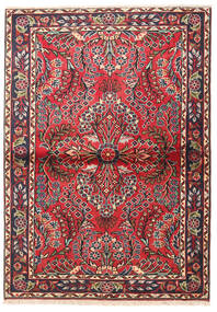 Lillian Teppe 102X144 Ekte Orientalsk Håndknyttet Mørk Brun/Rust (Ull, Persia/Iran)