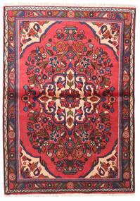 Lillian Teppe 102X145 Ekte Orientalsk Håndknyttet Rust/Mørk Lilla (Ull, Persia/Iran)