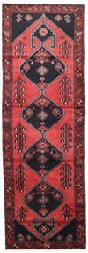 Saveh Teppe 100X300 Ekte Orientalsk Håndknyttet Teppeløpere Mørk Blå/Rød (Ull, Persia/Iran)