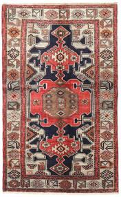 Tarom Teppe 125X204 Ekte Orientalsk Håndknyttet Lys Grå/Mørk Brun (Ull, Persia/Iran)