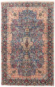 Kerman Patina Teppe 150X243 Ekte Orientalsk Håndknyttet Mørk Grå (Ull, Persia/Iran)