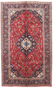 Keshan Teppe 145X240 Ekte Orientalsk Håndknyttet Mørk Lilla/Mørk Rød (Ull, Persia/Iran)