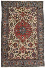 Ardebil Patina Teppe 195X300 Ekte Orientalsk Håndknyttet Mørk Brun/Lysbrun (Ull, Persia/Iran)