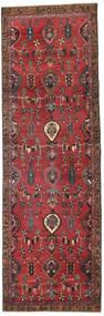 Heriz Patina Teppe 103X325 Ekte Orientalsk Håndknyttet Teppeløpere Mørk Rød/Rød (Ull, Persia/Iran)