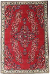 Najafabad Patina Teppe 205X315 Ekte Orientalsk Håndknyttet Mørk Rød/Rød (Ull, Persia/Iran)