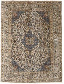 Kashmar Patina Teppe 290X390 Ekte Orientalsk Håndknyttet Mørk Grå/Lysbrun Stort (Ull, Persia/Iran)