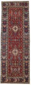 Heriz Patina Teppe 105X305 Ekte Orientalsk Håndknyttet Teppeløpere Mørk Rød/Mørk Grå (Ull, Persia/Iran)