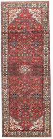 Hamadan Patina Teppe 105X295 Ekte Orientalsk Håndknyttet Teppeløpere Mørk Rød/Mørk Brun (Ull, Persia/Iran)