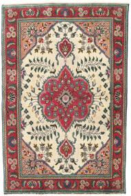 Tabriz Patina Teppe 95X145 Ekte Orientalsk Håndknyttet Beige/Svart (Ull, Persia/Iran)
