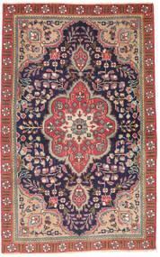 Tabriz Patina Teppe 90X140 Ekte Orientalsk Håndknyttet Mørk Grå/Rust (Ull, Persia/Iran)